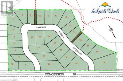 Port Elgin Listing for Sale - LOT 6 PLAN 3M245